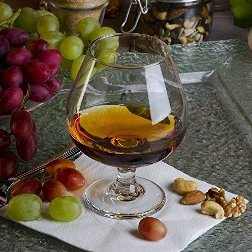 Libbey 3708 Embassy Brandy-Glas mit HHS Party-Plektren von Embassy Libbey Embassy Brandy