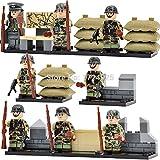 Guerra mundial 2alemán Asalto especial fuerza militar bloques de construcción Ladrillos de juguete ejército Solider (sin caja)