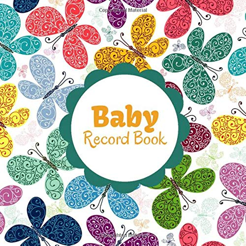 Baby Record Book: Daily Blank Column Infant Log Book Sheet Diary to Record all Baby Information Track & Monitor infant activities for Parents, Mum, ... 120 Pages. (Baby Daily Journals, Band 16) (Baby Monitor Activity)