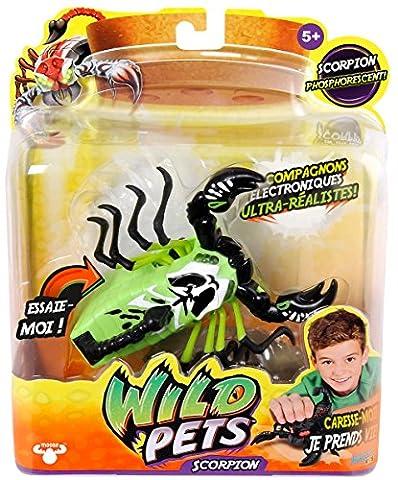 Kanaï Kids - KK290043 - Scorpion Scorpince Interactif - Wild Pets - Capteurs Sensitifs
