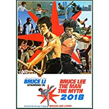 Calendrier mural 2018 [12 pages 20x30cm] Kung Fu Bruce Lee # Vintage Trash film affiches Reprint [Calendar]