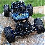 Pinjeer RC Voiture 1/12 4WD Rock Crawlers 4x4 Conduite Voiture Double Moteurs Drive Big Pied Voiture Télécommande Modèle De Voiture Off-Road Véhicule Jouet Éducatif pour Enfants Âge 4+