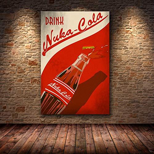 Personaggio Dipinto ad Olio Personaggio dei Cartoni Animati Gioco Poster da Parete Poster su Tela e Stampa su Tela Immagine Decorativa per Disegno Camera da Letto