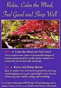 Relax, Calm the Mind, Feel Good and Sleep Well DVD CD