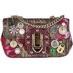 Dolce&Gabbana bolsos con asas largas para compras mujer nuevo rojo