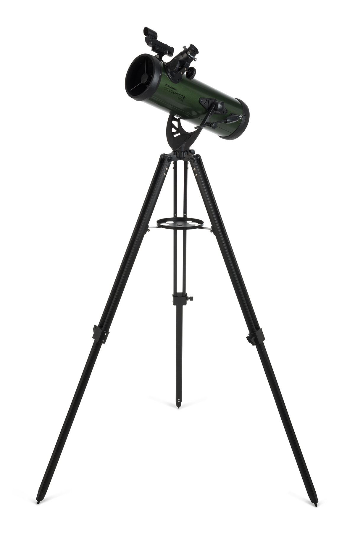 Celestron Explorascope Discover The Moon Or Rings of Saturn Explorascope 60AZ Refractor, Green (22100)