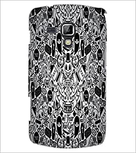 PrintDhaba Graffiti D-5528 Back Case Cover for SAMSUNG GALAXY S DUOS 2 S7582 (Multi-Coloured)