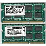 FCM Kit RAM 16Go (DDR3L 1,35V SO-DIMM PC3–128001 600MHz compatible pour ordinateur portable Apple) (2x 8Go)