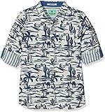 Scotch & Soda Shrunk Jungen Hemd Bonded Shirt, Mehrfarbig (Combo H 587), 152 (Herstellergröße: 12)