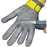 StillCool-Nueva Desconexión de seguridad a prueba de arma blanca resistente de acero inoxidable de malla metálica carnicero guante