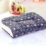 Happy FD Polster/Decke für Hunde- und Katzenbetten, Zwinger, Transportbox, warmes, flauschiges Korallen-Fleece, mit Sternenmotiv