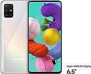 Samsung Galaxy A51 Dual SIM, 128GB, 6GB RAM, 4G LTE White (UAE Version)