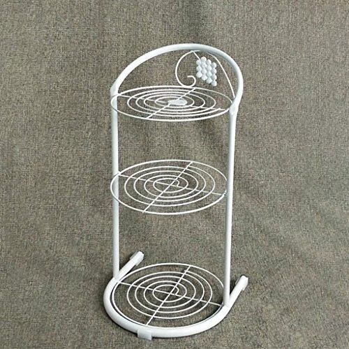 RFJJAL Eisen 3/4 Tier-Schuh-Racks, Stand-Speicher-Regal für Tür-Balkon-Starkes und langlebiges Gut, sparen Raum für Schuh-Lagerung (Color : White, Size : 3 Tier) -