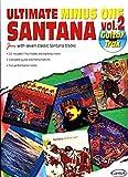 Santana Carlos Ultimate Minus One Volume 2 Guitar Tab Book/Cd