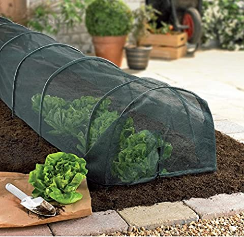 Lightweight Garden Allotment Net Covered Grow Tunnel Protects your plants