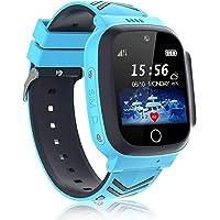 Smartwatch Bambini - Impermeabile IP68 LBS Tracker Orologio Intelligente Telefono con Chat Vocale SOS Sveglia e Gioco di…