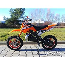 Viron - Mini moto da cross Dirt Bike 49 cc, modello Enduro