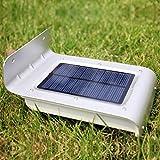 TAOtTAO Solar Power Motion Sensor Sicherheit Garten Lampe Außenlicht 16 LED Glühbirne