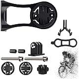 BAOXIN Out Front Combo Bike Mount, Fiets Edge Mount voor Garmin Edge 200/500/510/520/800/810/820/1000 en GPS