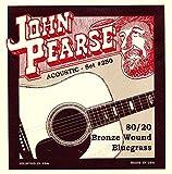 John Pearse 250 JP Jeu de cordes pour Bluegrass Guitare Bronze