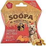 Soopa Bastoncini per i Denti per Cani, da 100 g, al Gusto di verza/Mela