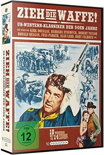 Zieh die Waffe - Western Deluxe Box-Edition (10 DVDs)