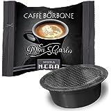 CAFFÈ BORBONE Don Carlo Mélange noir 100 dosettes compatibles Lavazza A Modo Mio 750 g