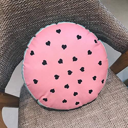 DYYY Pink Kleiner Kissen-Druck Mit Musik Multi-Doughnut Ananas-kaktuskissen Kinderzimmer Schwimmende Fensterdekoration 05 - Druck-wurfs-kissen Indische