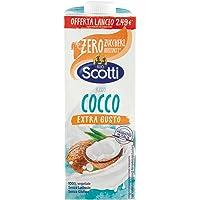 Riso Scotti - Riso Cocco Extra Gusto - Latte di Cocco con Riso senza Lattosio, senza Glutine, senza Zucchero, 100…