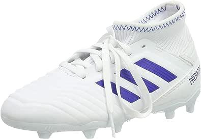 Scarpe adidas Predator 19+ FG Bambino White Bold blue