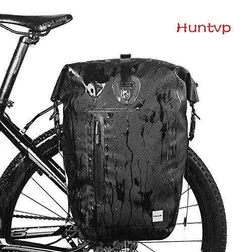 Huntvp 25L Bolsa Trasera Bicicleta Impermeable Multifunción