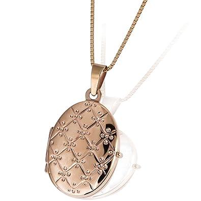 Rotgold schmuck damen  Goldmaid Damen-Medallion 375 Rotgold Schmuck: Amazon.de: Schmuck