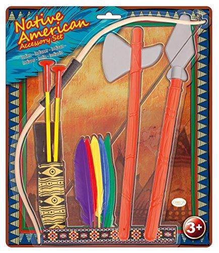 Amscan-997578-Set de Native American accesorios-3-6años