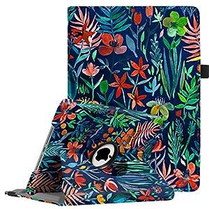 La marque Fintie vous propose des produits de qualité.Cette housse Fintie est le compagnon idéal pour transporter votre iPad sans vous inquiéter sans cesse.Pratique et élégante, cette coque de protection est unique.Grâce à la fonction de support de l...