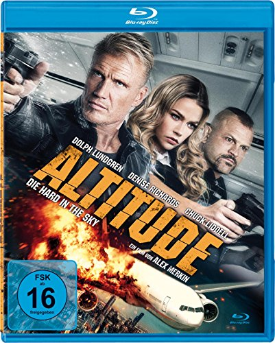 Altitude - Die Hard in the Sky - Uncut [Blu-ray]