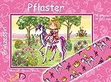 10 Pflaster * Prinzessin * mit 19x72mm vom Döll-Verlag // 263211 // Prinzessinnnen Kinderpflaster Kinder Mitgebsel Rosa Pony Pferd Einhorn Fee Elfe Kindergeburtstag Geburtstag
