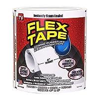 """Flex Tape, süper güçlü lastik su geçirmez kendinden yapışkanlı bant siyah 10,2 cm x 5 """""""