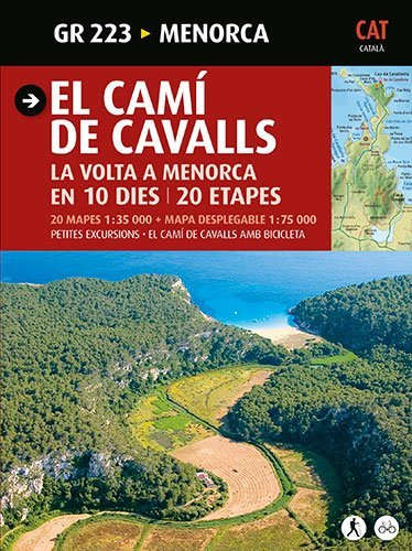 El Camí de Cavalls: Menorca (Guia & Mapa) por Joan Mercadal Argimbau