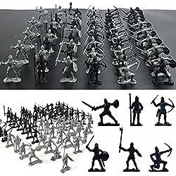 Figuras de guerreros de FomCcu, 60 unidades, juguete