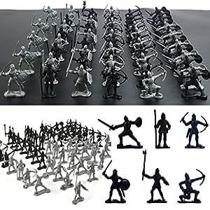 FomCcu Spielfiguren-Set 60-teilig Soldaten