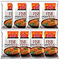 Quality Spices Fish Masala Powder 100 Grams (Pack of 8)