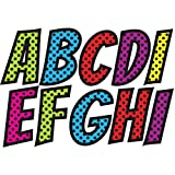 Ashley Productions Superhero Designer Magnetic Uppercase Letters (57 Piece), Assorted Colors