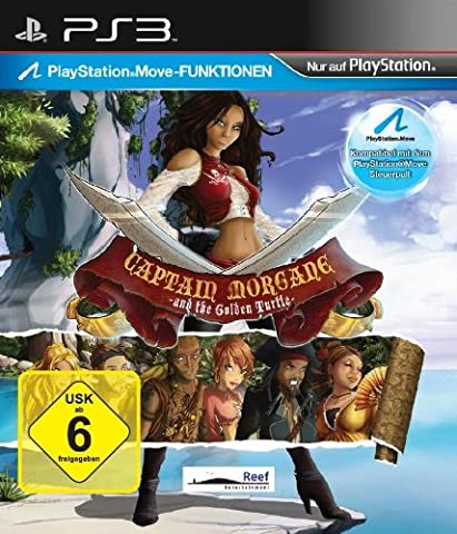 Captain Morgane Ps3 - Captain Morgane and the golden turtle [import