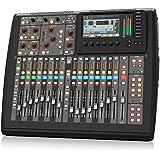 Behringer X32 Compact - Mezclador para DJ (40 Bit, 100 Db, 10 - 22000 Hz, 10000 Ohmio, 0,006%, TFT) Negro