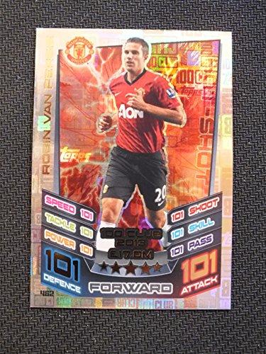 Match Attax 2016 17 Hundred club card  462 Robin Van Persie  2013
