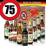 Bierbox DDR - Zahl 75 - Geschenke Mutti - Bier Geschenk Set