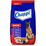 Chappi Adult Dry Dog Food, Chicken & Rice, 3kg Pack