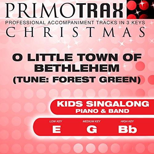 O Little Town of Bethlehem (Forest Green - Vocal Demonstration)