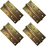 Atlantic Door Butt Hinges 5 inch x 12 Gauge/2.5 mm Thickness (Stainless Steel, Antique Finish, Pack of 4 Piece)