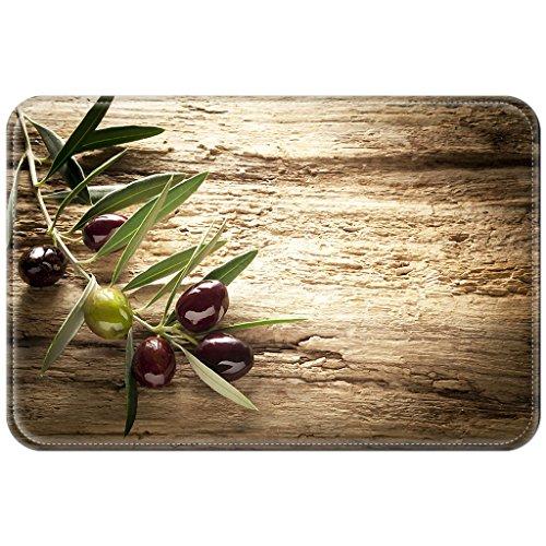 Preisvergleich Produktbild Violetpos Fußmatte Obst Fußmatten Mat für Innen & Außen 45 x 75 cm